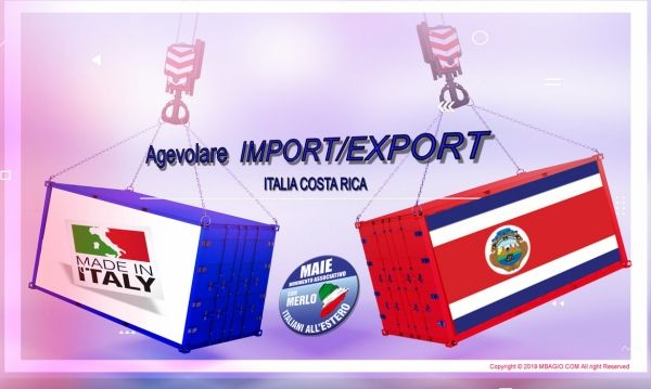 Agevolare import export maie