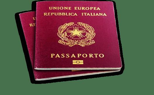 PASSAPORTO ITALIANO MAIE