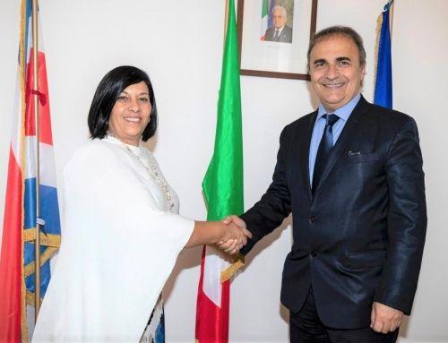 Farnesina, Sottosegretario Merlo riceve viceministra degli Esteri del Costa Rica