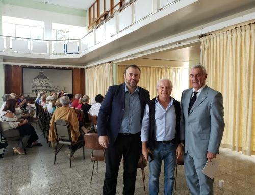 Costa Rica, Cacace (MAIE) all'incontro con i pensionati italiani
