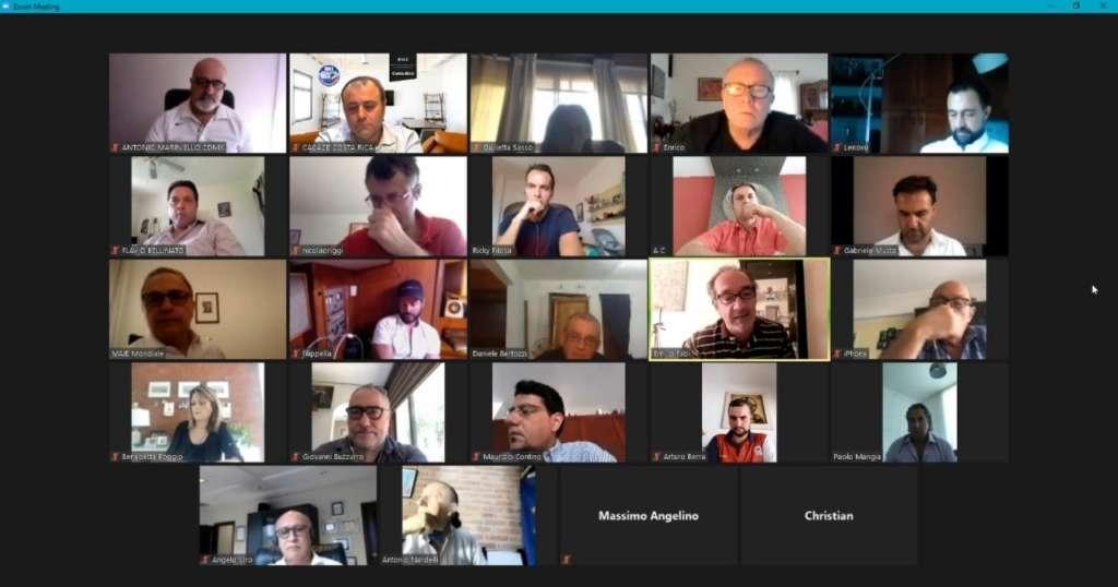 Videoconferenza maie