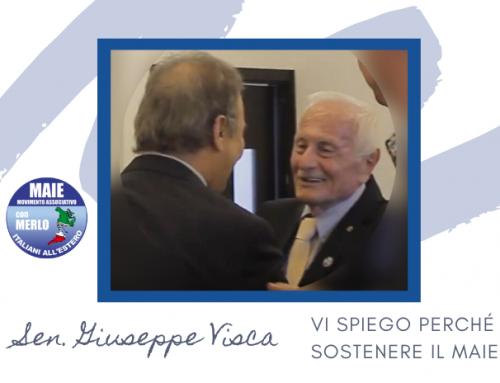 """Giuseppe Visca: """"Vi spiego perché sostenere il MAIE"""""""